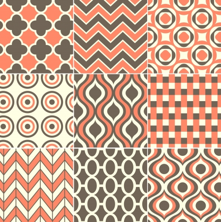 seamless retro pattern print  Stock Vector - 20273279