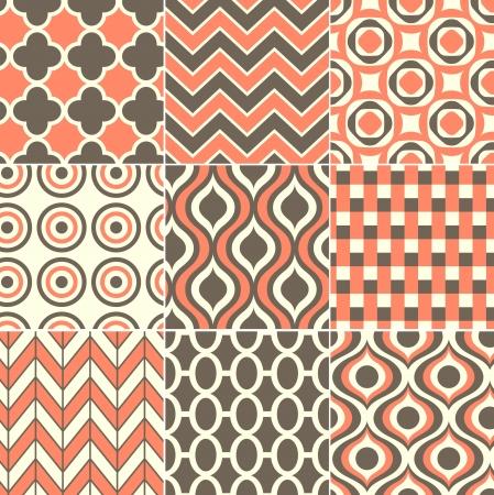 seamless retro pattern print Stock Vector - 20273279