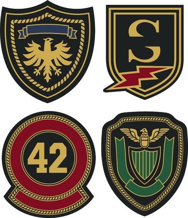 royal emblem badge shield Stock Vector - 20273289