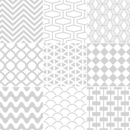 arlecchino: Modello bianco senza saldatura retr� Vettoriali