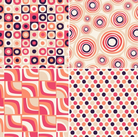 retro seamless abstract pattern Stock Vector - 20273288