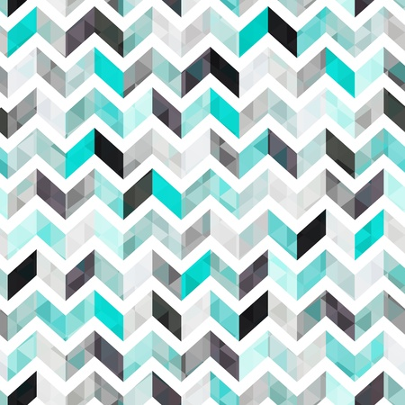 herringbone background: turquoise shiny vector background