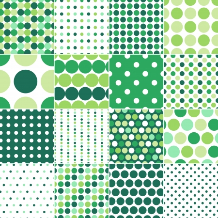 seamless retro dot pattern print Stock Vector - 20274766