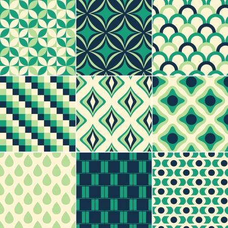 repeatable texture: print retro sin fisuras patr�n