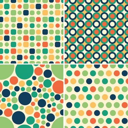 kelly: circular seamless pattern
