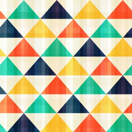 seamless triangle pattern Stock Vector - 20274770