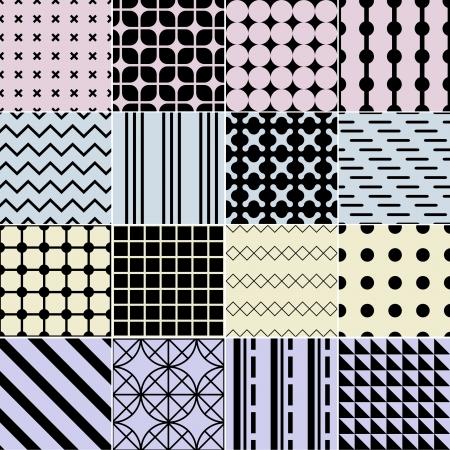 triangular shape: Seamless geometric pattern background