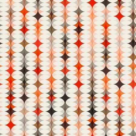 naadloze oranje patroon achtergrond Stock Illustratie