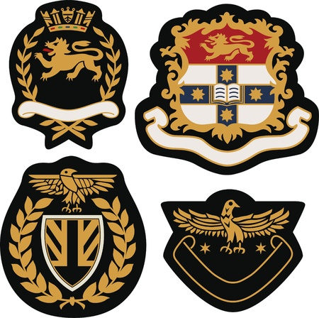 royal emblem badge shield Stock Vector - 20406441