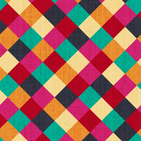 fuchsia: seamless geometric rhombus background  Illustration