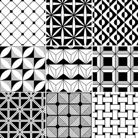 monochrome abstract seamless background