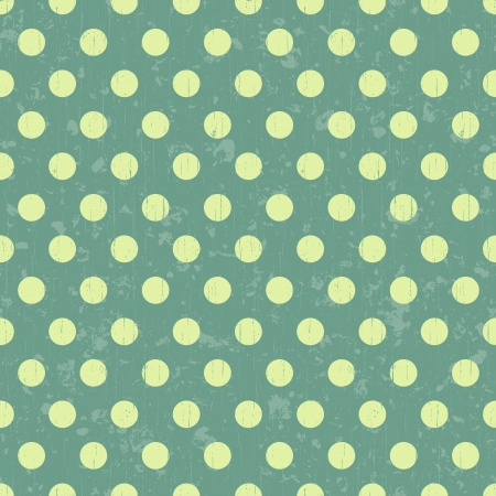 seamless retro dot pattern background Stock Vector - 20586461