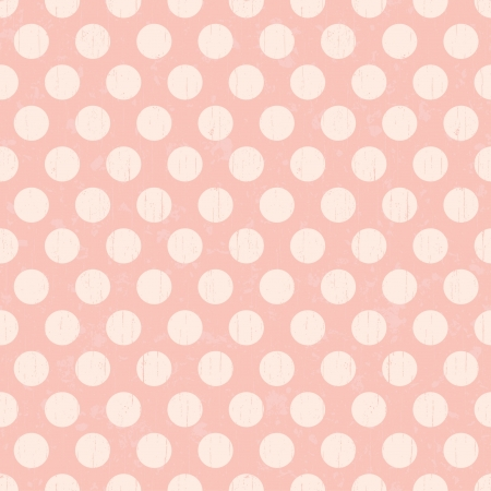 Seamless retro dots pattern background Stock Vector - 20586468