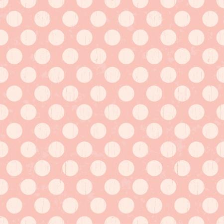 rosa: Seamless retro Punkte Muster Hintergrund