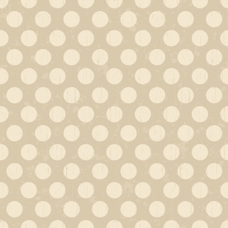 Seamless retro dots pattern background Vector