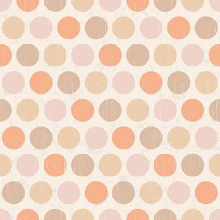seamless retro polka dots background  Stock Vector - 20586464