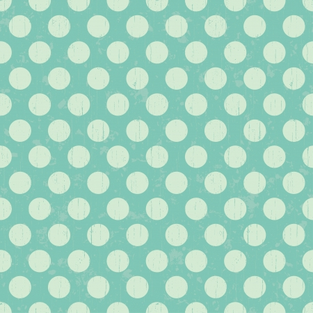 lime green background: Seamless grunge circles polka dots background texture Illustration