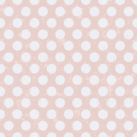seamless retro polka dots texture background  Vector