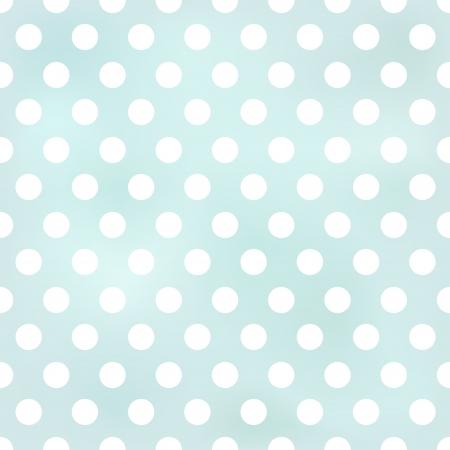 blau: nahtlose Retro Tupfenhintergrund Illustration