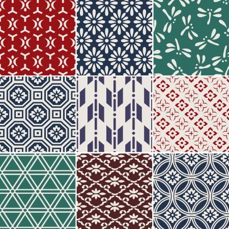 motive: nahtlose traditionelle japanische Hintergrund