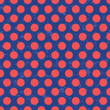 polka dots seamless background Vector