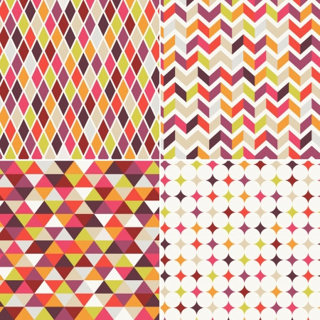 seamless abstract geometric pattern Stock Vector - 21948421