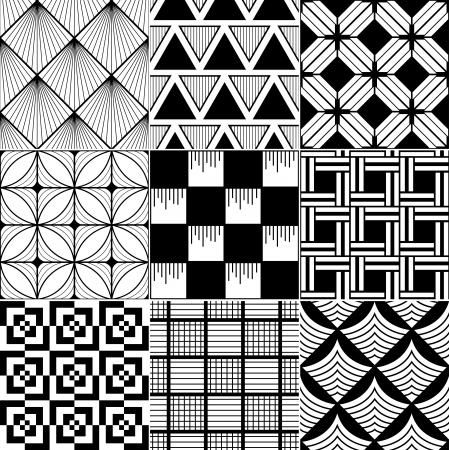 forme geometrique: monochrome sans soudure de fond abstrait