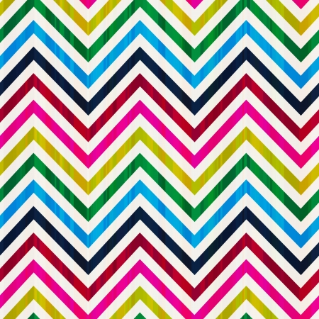 colorful seamless zig zag vector pattern  Vector