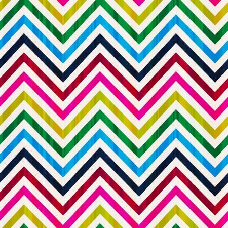 zag: colorful seamless zig zag vector pattern  Illustration