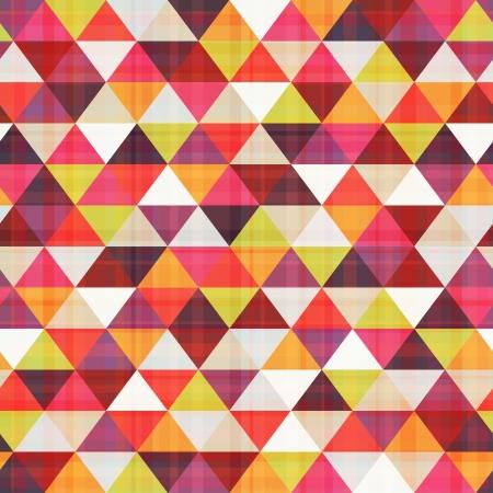 seamless triangle pattern texture  Illustration