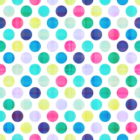 seamless circles background texture  向量圖像