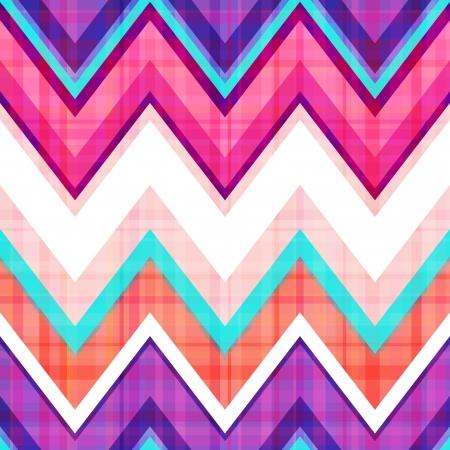 fuchsia: seamless chevron pattern  Illustration