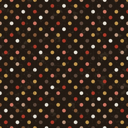 seamless tiny dots pattern  Vector