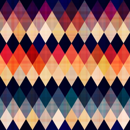 colorful seamless argyle pattern Vector