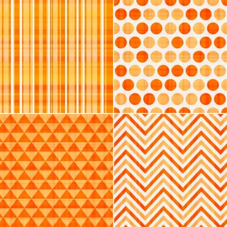 seamless orange texture pattern background  Vector