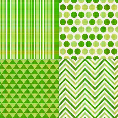 bezszwowe tło wzór tekstury zielony Ilustracje wektorowe