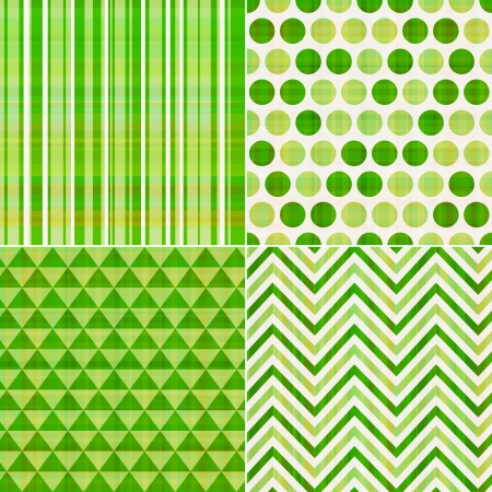 seamless green texture pattern background  Vector