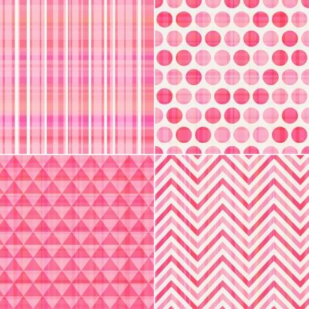 シームレスなピンクのテクスチャ パターン背景
