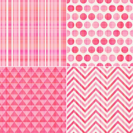 seamless pink texture pattern background  Vector