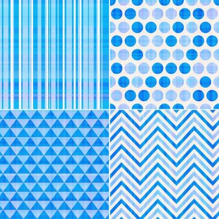 nahtlose blauen Beschaffenheitsmusterhintergrund Vektorgrafik