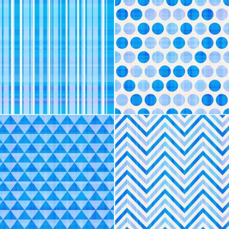 seamless blue texture pattern background  Vector