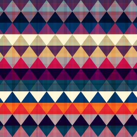 pattern: seamless colorful geometric pattern Illustration