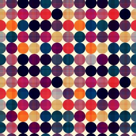 pop background: seamless circles background texture  Illustration
