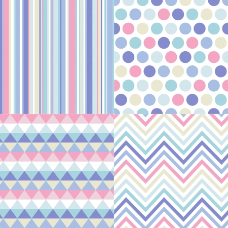 pastel:  seamless geometric pattern