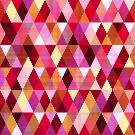 seamless abstract geometric triangle pattern  Vector