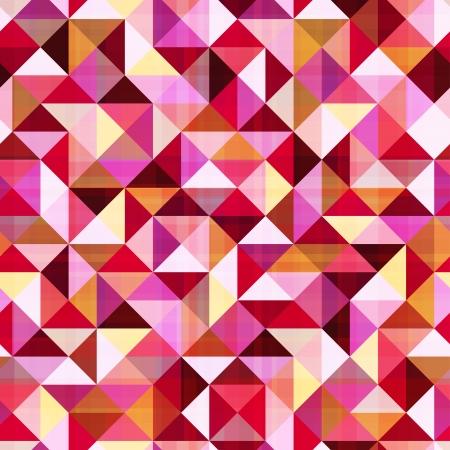 fuchsia: seamless abstract geometric triangle pattern