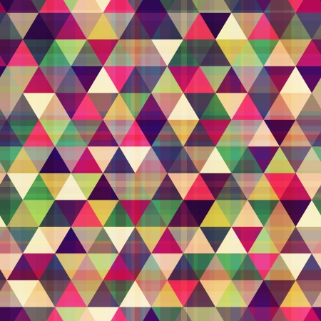 background vintage: seamless triangle background texture