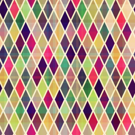 electric grid: seamless rhombus geometric pattern
