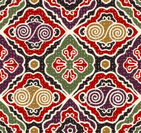 eastern culture: seamless japanese traditional pattern Illustration