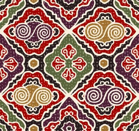 eastern: seamless japanese traditional pattern Illustration